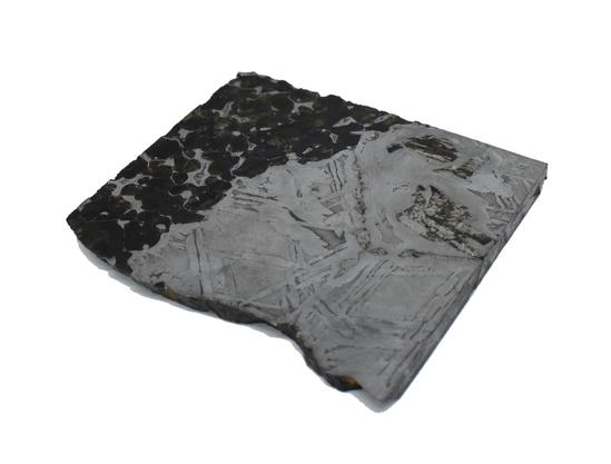 Seymchan Pallasite Meteorite Slice 387 grams