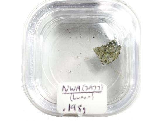 NWA 2977 Lunar Meteorite .198 grams