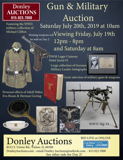 Day 1 - Military Auction - Clifton Collection