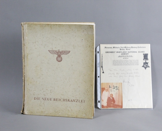 WWII Nazi The New Reichskanzlei Book
