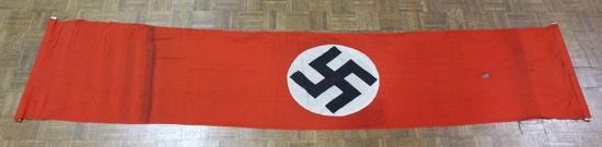 Nazi Swastika Rally Banner