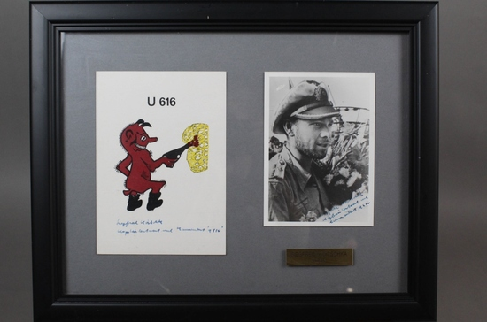 WWII Nazi Siegfried Koitschka Autographed Photo