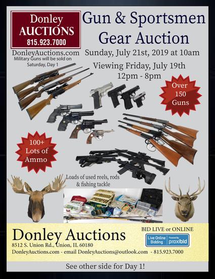Day 2 - Guns and Sportsmen Gear Auction