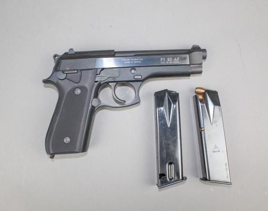 Taurus PT 92 AF Pistol 9MM