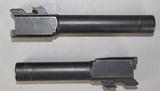 2 Smith & Wesson 40S&W Barrels