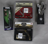 Buck Schrade and Sog Knife Lot