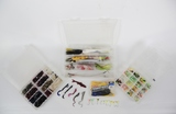 3 Boxes of Fishing Lures/Hooks