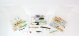 3 Tackle Boxes w/ Lures, Hooks, & More