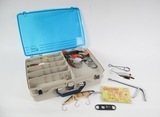 Fishing Tackle Box w/ Large Catch Lures