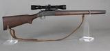 M&R Model 157 22 Hornet Single Shot Shotgun