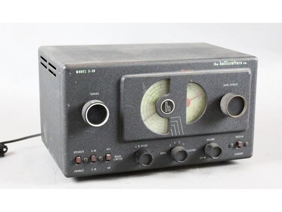 Hallicrafters S-38 Shortwave Radio