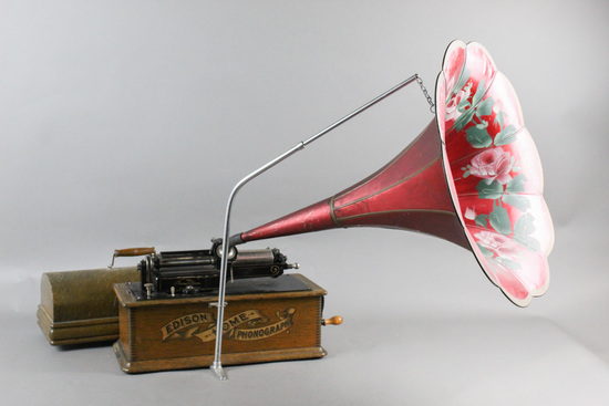 Edison 2/4 Minute Home Cylinder Phonograph