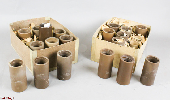 Edison/Columbia Brown Wax Cylinder Records (19)