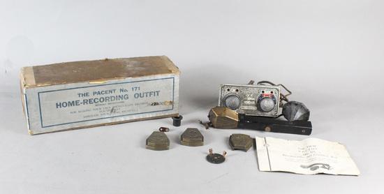 Recordovox and Control Box