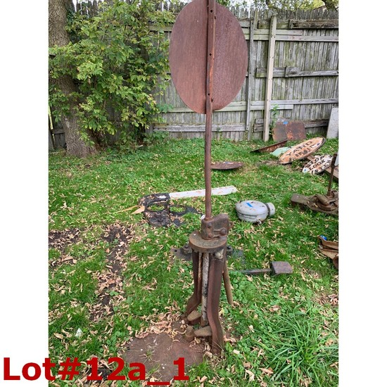 Railroad Switch Stand w/ Target