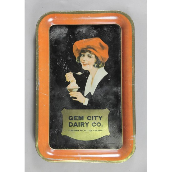 Gem City Dairy Ice Cream Tray