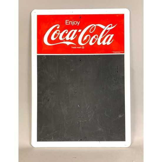 Coca-Cola Sign Menu Board Chalk Board