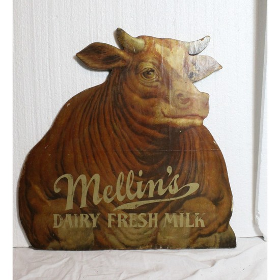 Mellins Cow Dairy Milk Advertisement