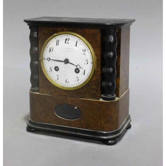 Small Biedermeier Style Mantle Clock