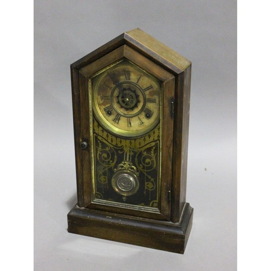 Small Cased Mantle Clock