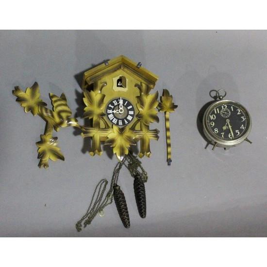 Cuckoo & Alarm Clock