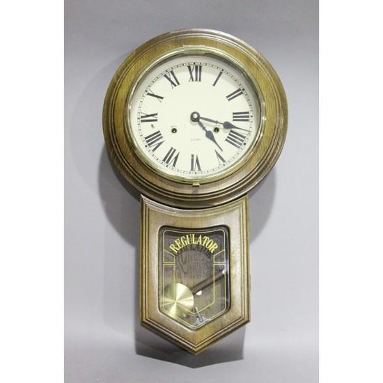 Contemporary Regulator Wall Clock