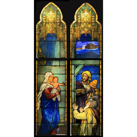 Original Tiffany Nativity Windows