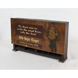 Old Style Lager Wood Display