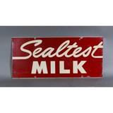 Vintage Sealtest Milk Sign