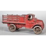 Arcade Cast Iron Mack Stake Body Truck Toy
