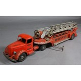 Smith Miller Hook and Ladder Toy Fire Truck