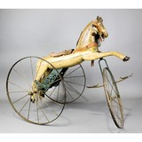 Vintage Child's Horse Tricycle