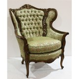 Vintage Victorian Ornate Parlor Chair