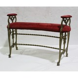 Antique Ornate Theater Seat