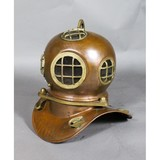 Contemporary Brass Model of a Diving Helmet