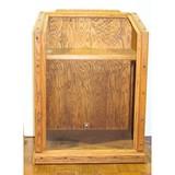 Vintage Oak Cash Podium