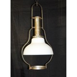 Antique Kerosene Hanging Lamp Fixture