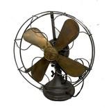General Electric Brass Blade Fan
