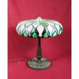 Duffner Kimberly Leaded Antique Lamp Tiffany Era