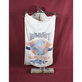 Early Country Store Cast Iron Grain Bag Holder