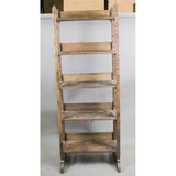 Country Store Wood Bread Rack & Box
