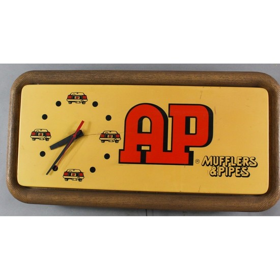 Vintage Automotive Gas Station Clock