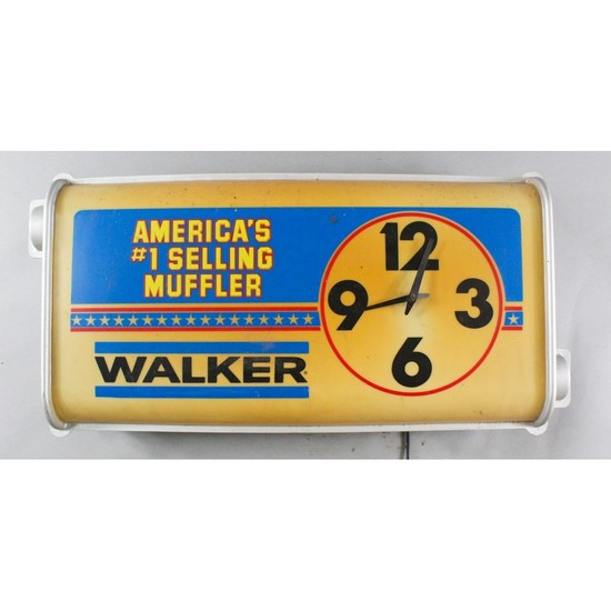 "Vintage Automotive Gas Station ""Walker"""