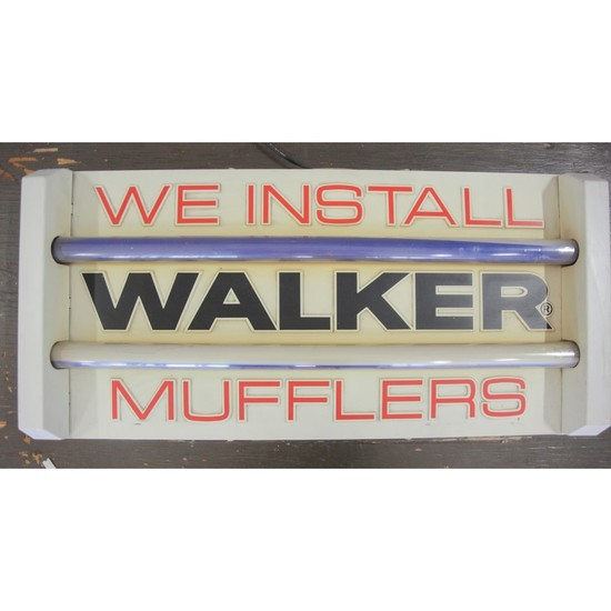 "Vintage Automotive ""Walker"" Muffler Sign"