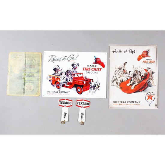Texaco Gasoline Signs (4)