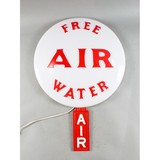 Vintage Gas Station Air and Water Light Up Sign