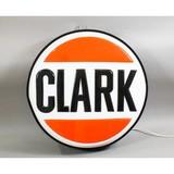 Vintage Clark Gas Station Light Up Sign