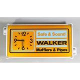 Vintage Gas Station Light Up Walker Muffler Sign