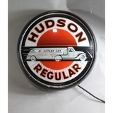 Contemporary Gas Station Light Up Hudson Sign