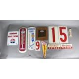 Vintage Original Gas Station Signs (8)